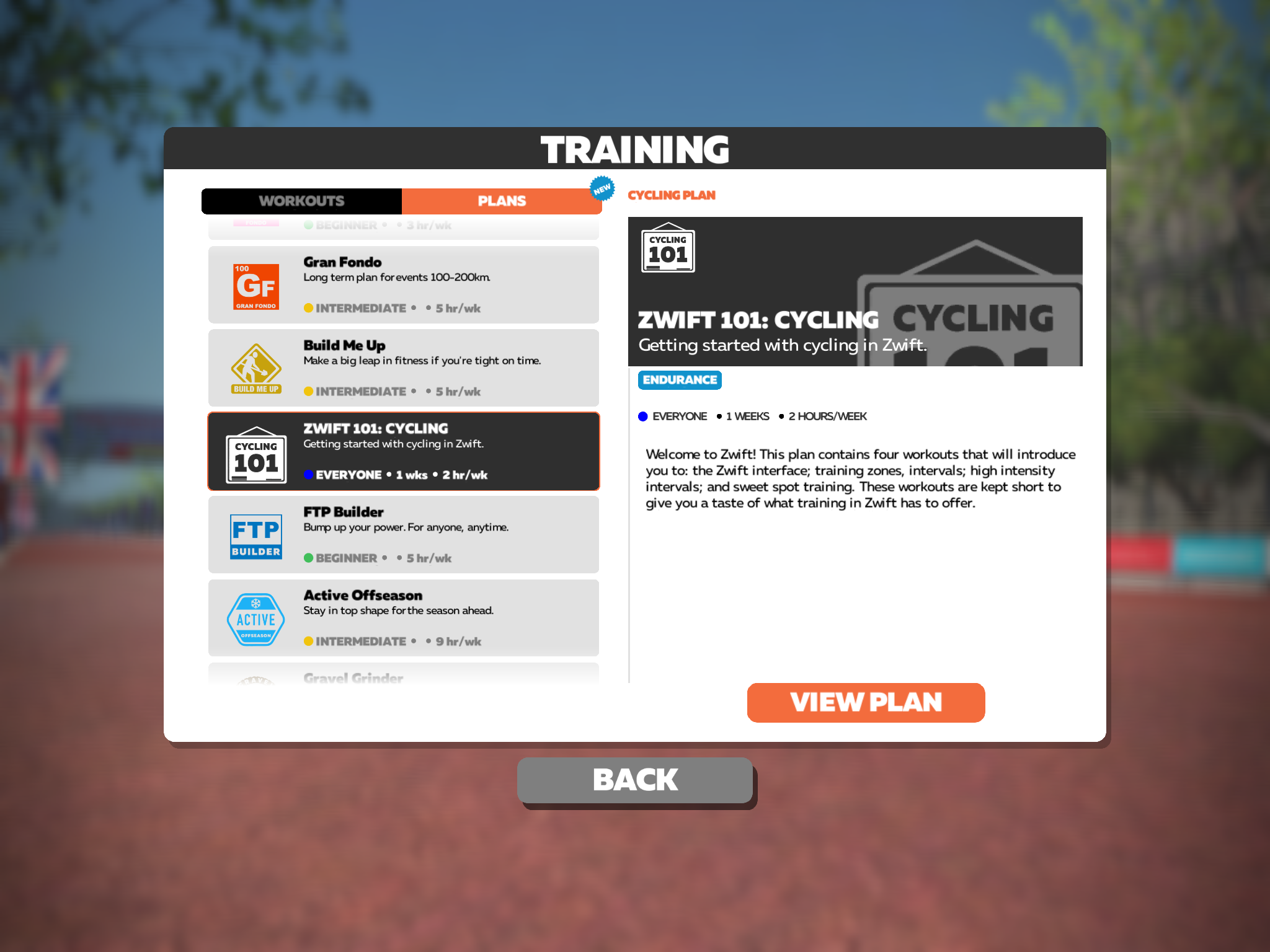 Category: Zwift Training Plan | Cycling Indoors