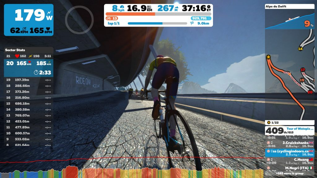 Tour of Watopia: Stage 7 – Grand Finale | Cycling Indoors