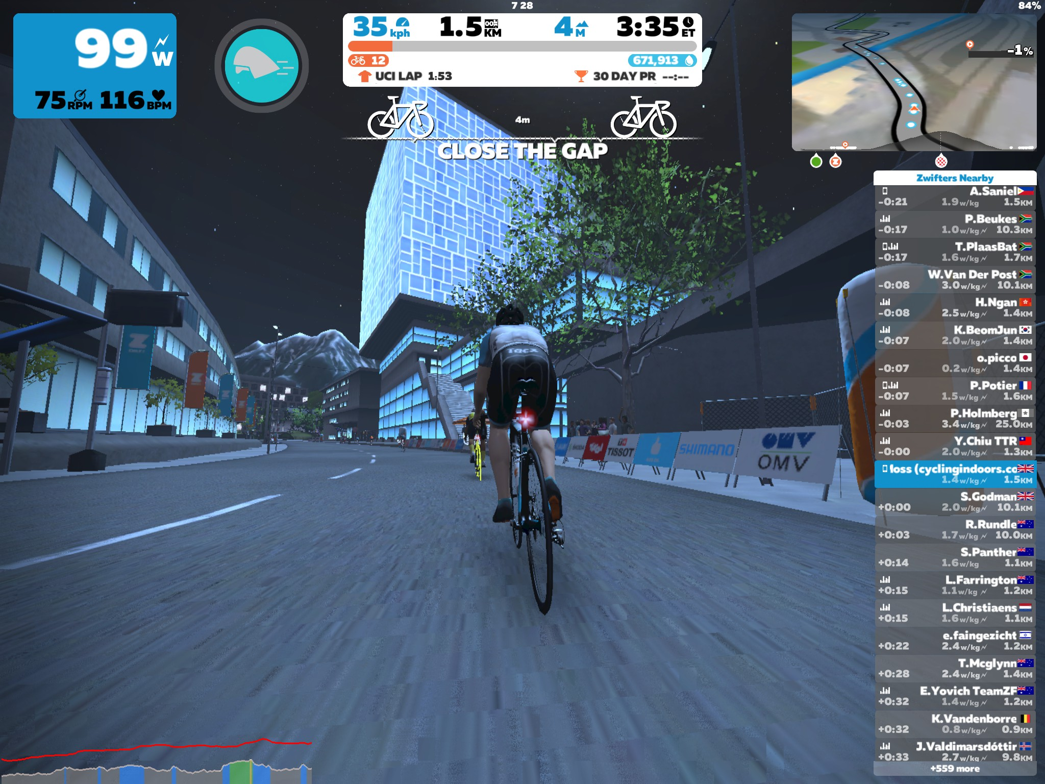 Innsbruck KOM First Attempt | Cycling Indoors